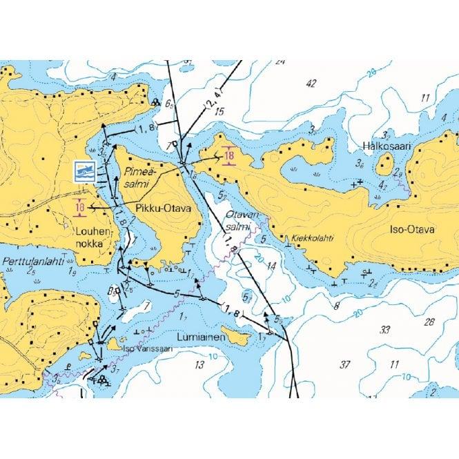 Nasijarvi Tampere Kuru Water Touring Map 1 40k Published By