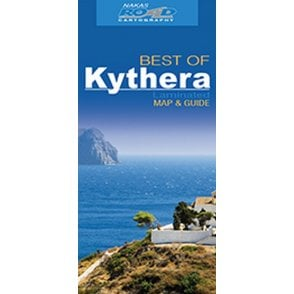 Chios (Greece) \'best of\' tourist map with information guide, - Road ...