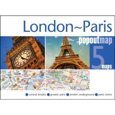 PopOut City Maps & Travel Guides | Maps Worldwide