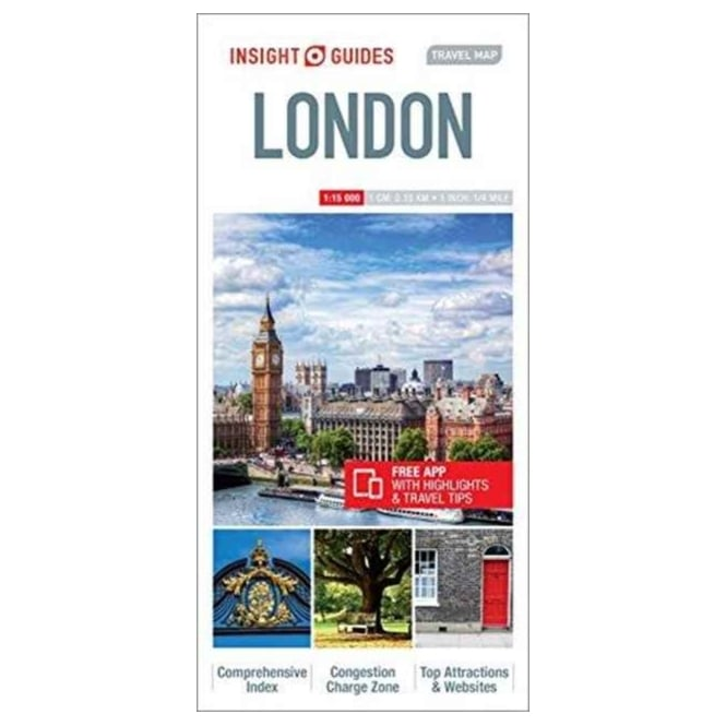 Travel Map London.London Insight Travel Map