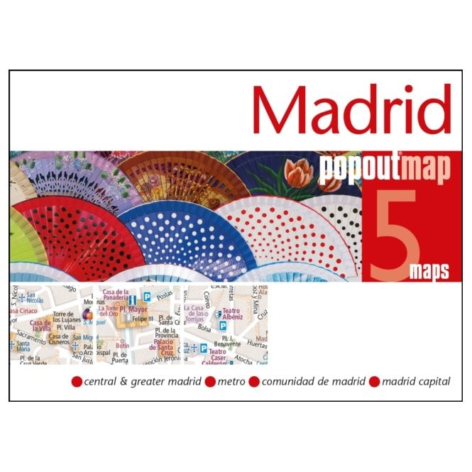 london popout map popout maps