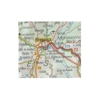 Postcode District 02 Laminated Wall Map: Southeast England & the Midlands