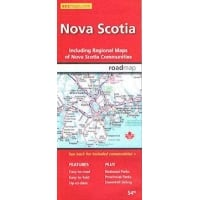Nova Scotia Provincial Map