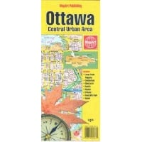 Ottawa Central Urban Area City Map