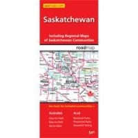 Saskatchewan Provincial Road Map