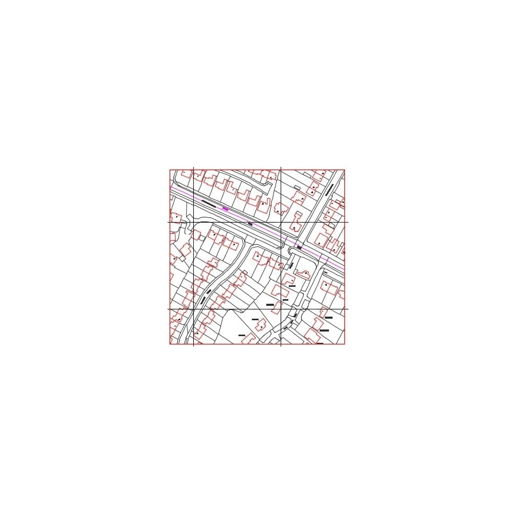 Ordnance Survey Plan Data Customised DXF or DWG Format