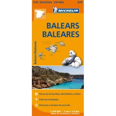 Balearic Islands Tourist Maps