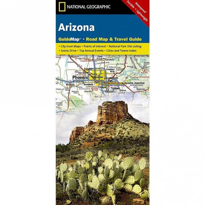 Arizona Road Map and Travel Guide