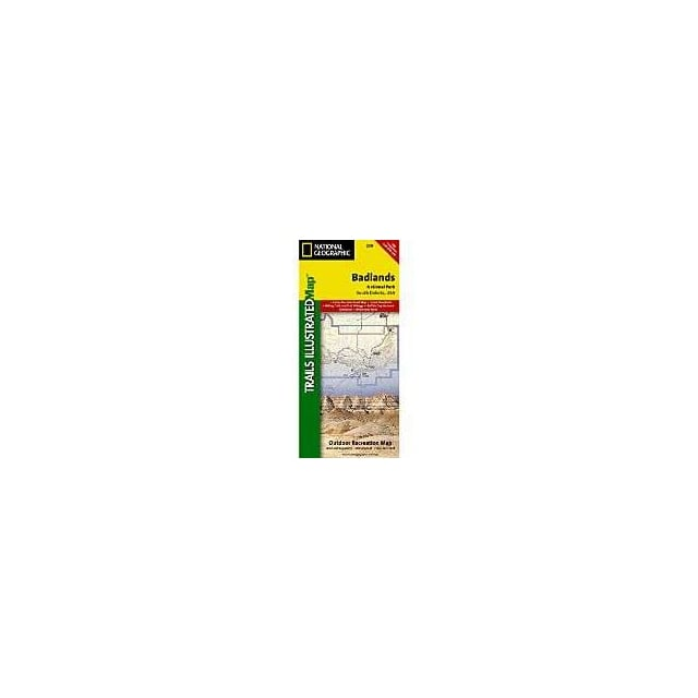 Badlands National Park Trails Illustrated Topo Map: 239