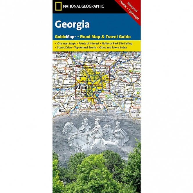 Georgia Road Map and Travel Guide