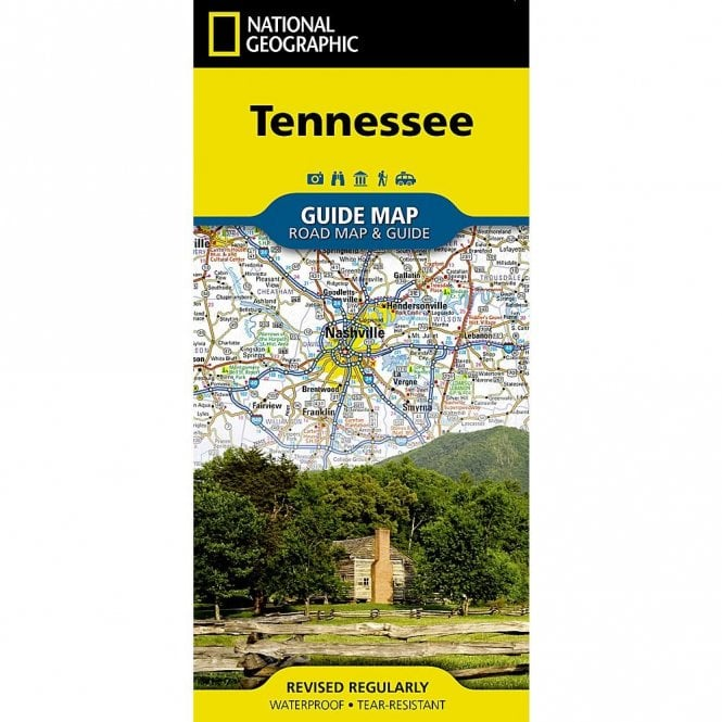 Tennessee Road Map and Travel Guide
