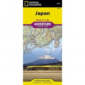 National Geographic Japan Adventure Map - Nat Geo 3023