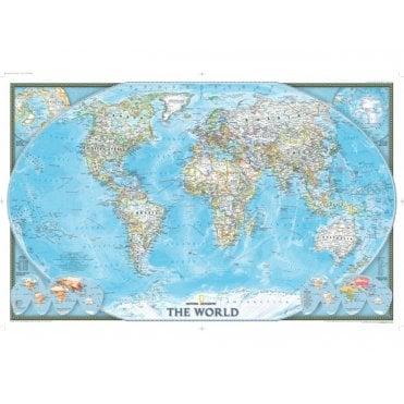 World Political Wall Maps