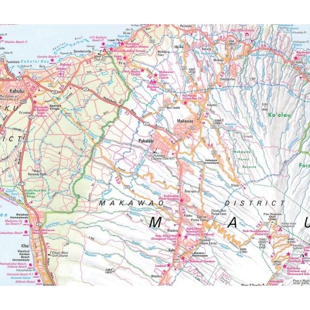 Hawaiian Islands Map - Nelles Guides & Maps