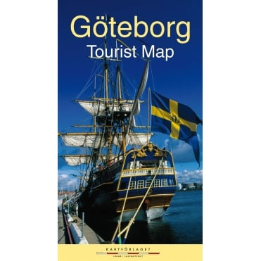 Gothenburg (Goteborg) Tourist Street Map (SALE)