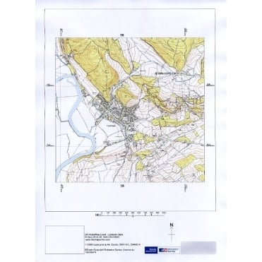 Ordnance Survey 1:10,000 Vector Map - site centred
