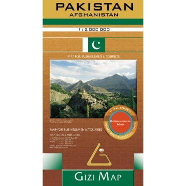 Pakistan Geographical Map