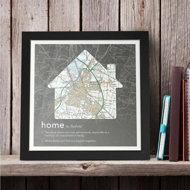 Personalised Dictionary Definition Map: Home