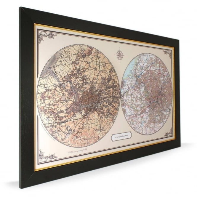 Personalised Duo Century Map