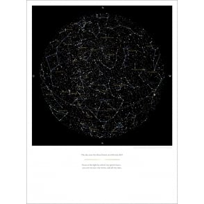 Personalised Star Chart Poster