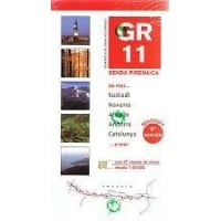 GR11 Senda Pirenaica - The Pyrenean Way Guide Book and Map Set