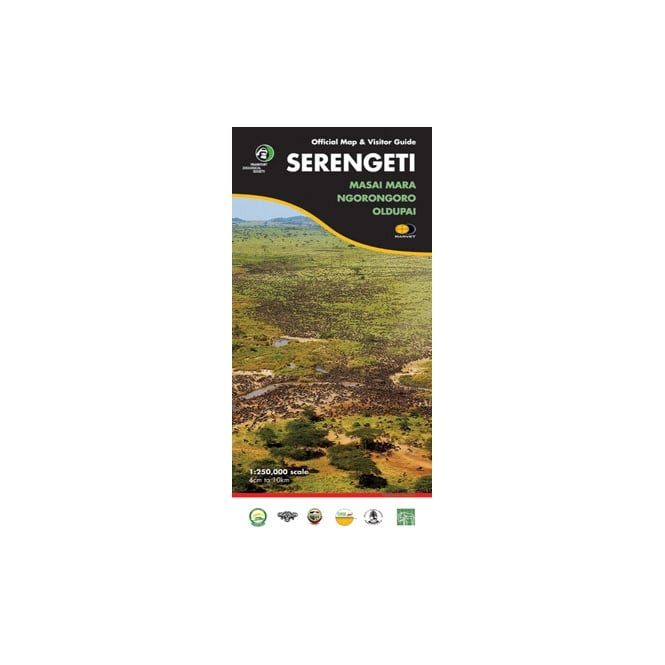 Official Map and Visitor Guide Serengeti Books Africa ...
