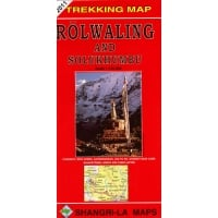 Rolwaling and Solukhumbu Trekking Map (CMW413)