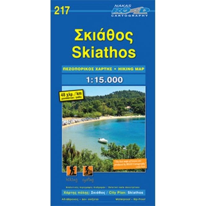 Skiathos (Greece) hiking map