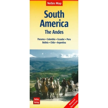 South America & the Andes Map