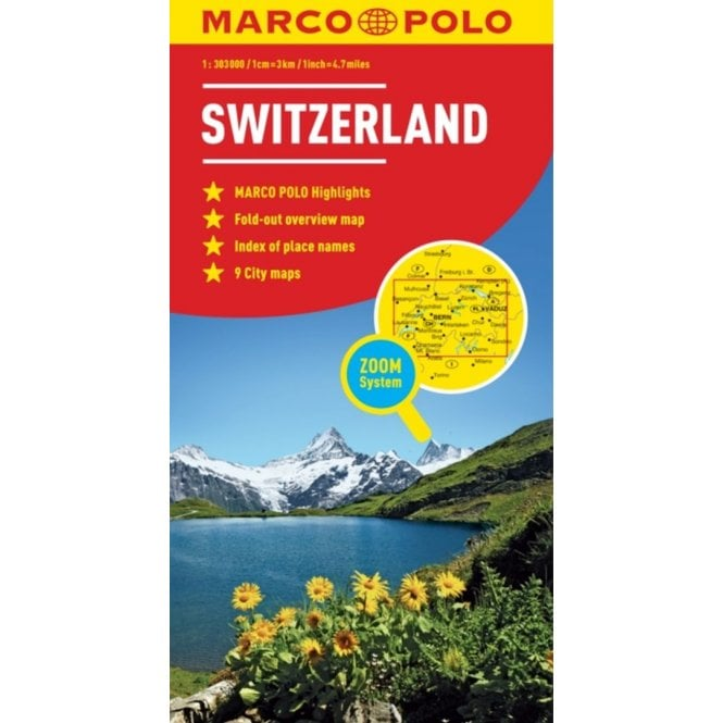 Switzerland Marco Polo Map
