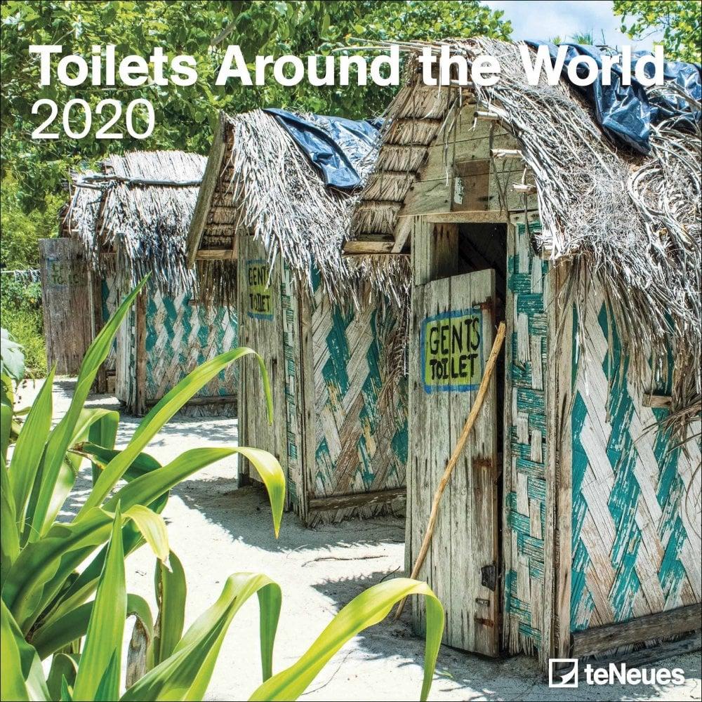Best Toilets 2020.Toilets Around The World Calendar 2020