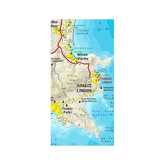 Skiathos Terrain Map 319