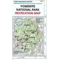Yosemite National Park Recreational Map (CCA197)