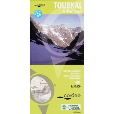 Toubkal and Marrakech Map