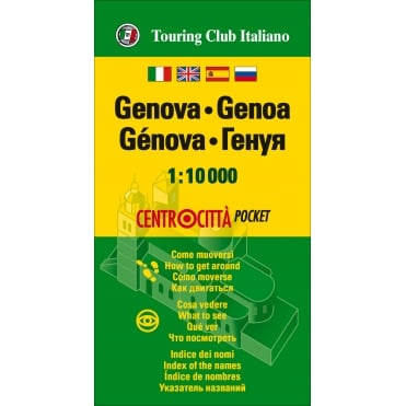 TCI Genoa Pocket Map