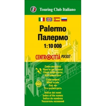 TCI Palermo Pocket Map