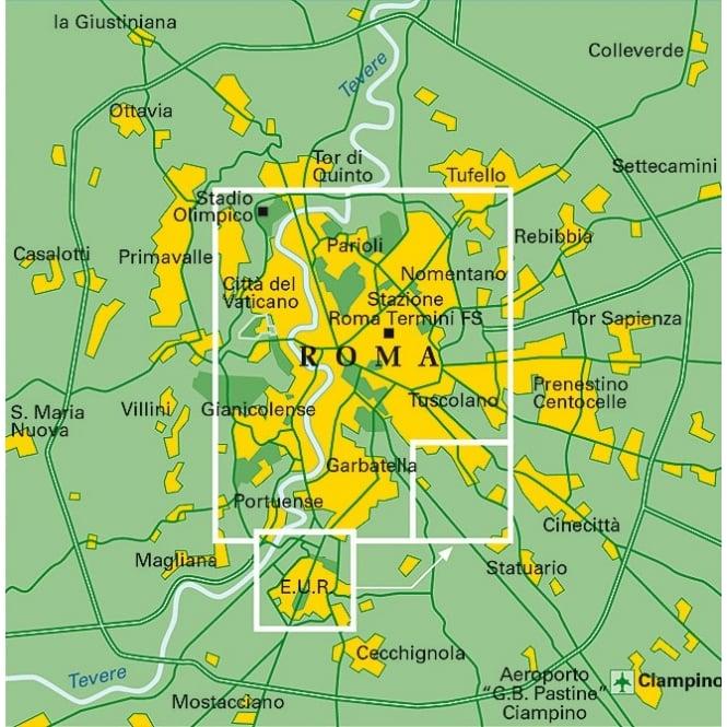 TCI Rome City Map