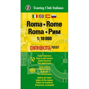 TCI Rome Pocket Map
