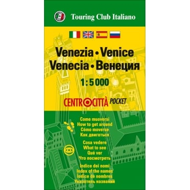 TCI Venice Pocket Map
