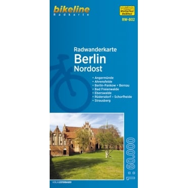 Bikeline Map: Berlin Northeast Cycling Map