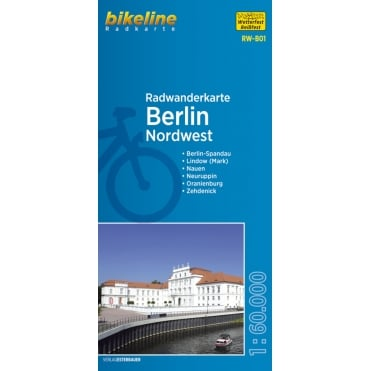 Bikeline Map: Berlin Northwest Cycling Map