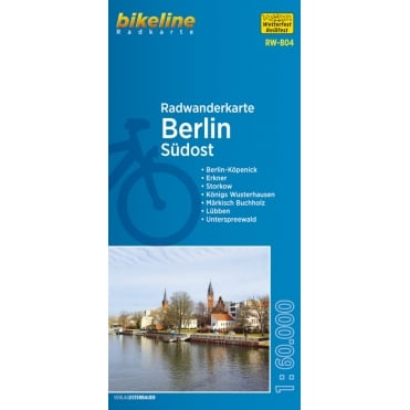 Bikeline Map: Berlin Southeast Cycling Map