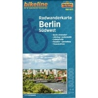 Bikeline Map: Berlin Southwest Cycling Map