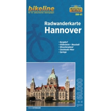 Bikeline Map: Hanover Cycling Map