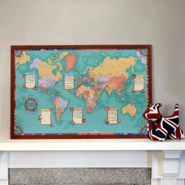 Custom Wall Maps available from Maps Worldwide | Global Shipping