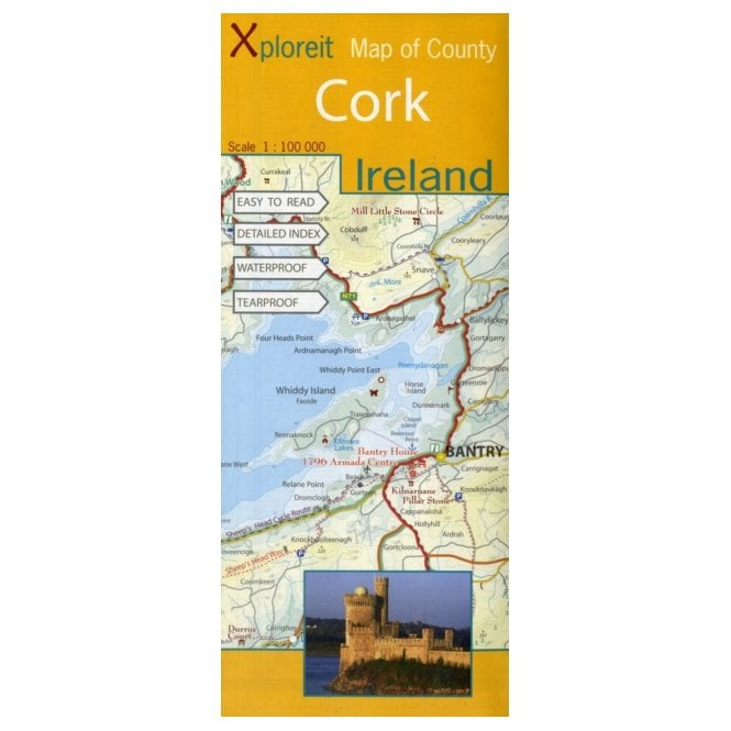 xploreit map of county cork ireland